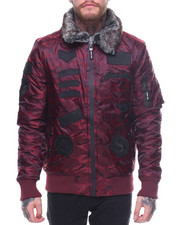 Buyers Picks - Camo Bomber Faux Fur Collar-2160802