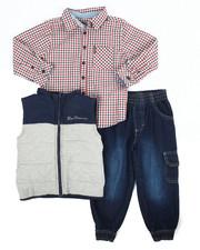 Ben Sherman - 3 Piece Vest Long Set (4-7)