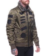 Buyers Picks - Camo Bomber Faux Fur Collar