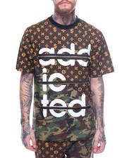 T-Shirts - Louis Addicted TEE W ZIPPER TRIM