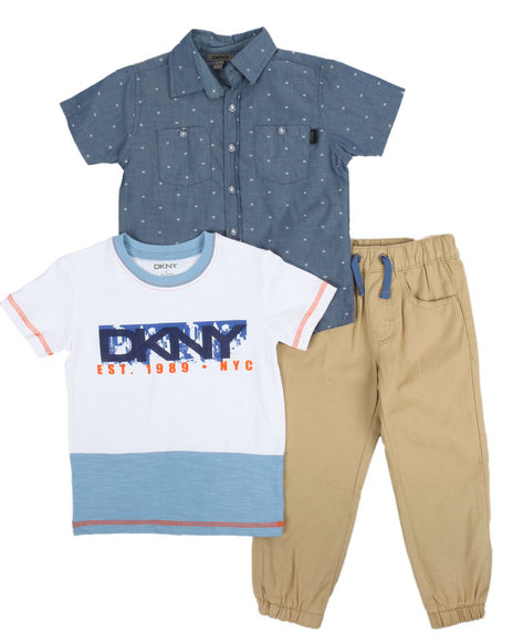 DKNY Boys 3 Piece Set