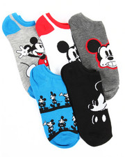 Buyers Picks - 5 Pack Mickey Mouse No Show Socks