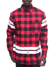 Buyers Picks - ELONGATED FLANNEL WITH ZIPPER AND TAPE DETAIL
