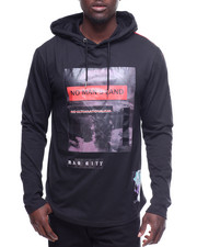 T-Shirts - L/S No Mans Land Hooded Tee