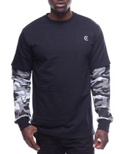 CALIBER - THE WATCH L/S FLEECE CREW