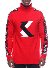 Karl Kani - COWL NECK Heritage  SWEATER