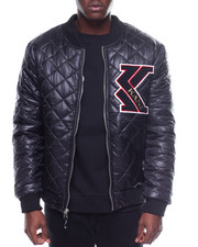 Light Jackets - NYLON QUILTED MA-1