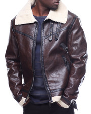 Buyers Picks - FAUX LEATHER &  SHEARLING JACKET BY ROBERT PHILLIPE