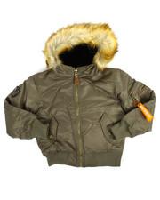 Outerwear - Aviator MA-1 Snorkle Jacket (8-20)-2160603