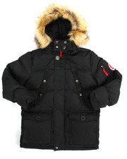 Heavy Coats - Heavy Parka Jacket (8-20)-2160156