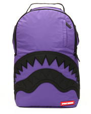 Sprayground - 3M Purple Black Rubber Shark Backpack-2159118