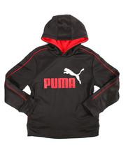 Puma - L/S Fleece Hoodie (8-20)