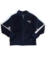Boys - T7 Velour Jacket (8-20)