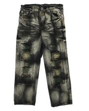 Jeans - Rip & Repair Denim Jean (4-7)