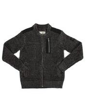 Sweatshirts & Sweaters - Full Zip Sweater (4-7)