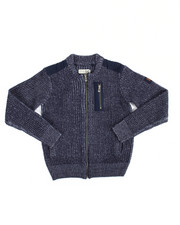 Parish - Full Zip Sweater (8-20)