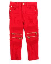 Bottoms - Rip & Tear Twill Jeans (2T-4T)-2161767
