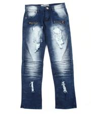 Boys - Moto Zipper Jean (8-20)