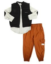 Boys - 3 Piece Vest Long Set (4-7)