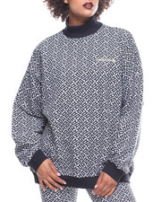 Adidas - All Over Print High Neck Sweat-2161999