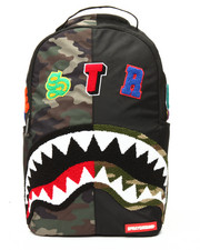 Accessories - Camo Destroy Shark Backpack