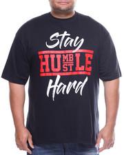Men - S/S Stay Humble Hustle Hard Tee (B&T)