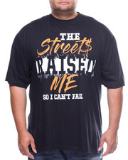 Shirts - S/S Streets Raised Me Tee (B&T)-2159754