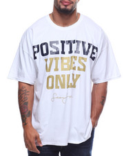 Sean John - S/S Postive Vibes Only Tee (B&T)