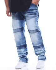Copper Rivet - Color Block Jeans (B&T)