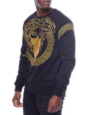 Pullover Sweatshirts - GOLD SAVAGE CREWNECK SWEATSHIRT