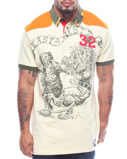 Hustle Gang - S/S Mid Field Rugby Polo (B&T)