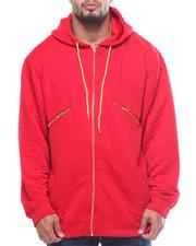 Buyers Picks - L/S Zip Down Quilted Fleece Hoodie (B&T)