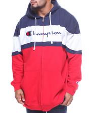 Light Jackets - Colorblocked Full Zip L/S Hoodie (B&T)-2162724