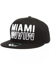 Men - Mirror Script Miami Snapback