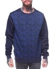 Sweatshirts & Sweaters - Embossed Novelty Texture Crews-2163292