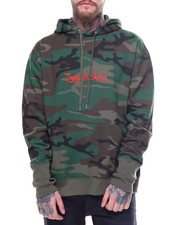 Athleisure for Men - Marker Logo CAMO HOODIE