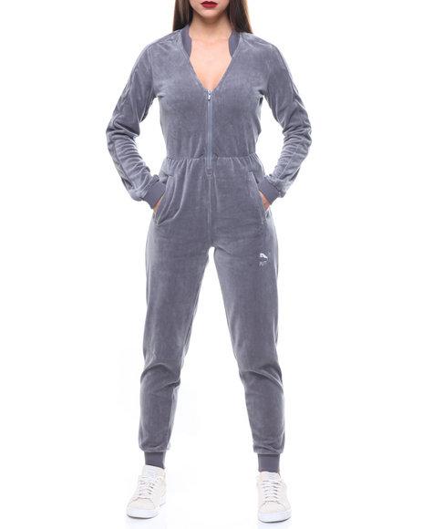 2714c9cd2b2 Buy Velour V-Neck T7 Jumpsuit Women s Jumpsuits from Puma. Find Puma ...
