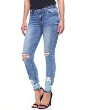 Fashion Lab - Stacked Hem Jean