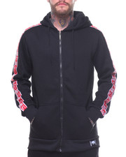 Men - Fleece Taping Hoodie
