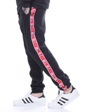 Men - Fleece Taping Joggers