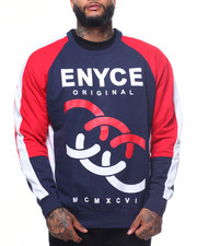 Enyce - L/S Crew Neck Sweatshirt (B&T)