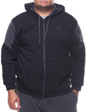 Men - L/S Duke Moto Fleece Hoodie (B&T)