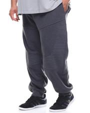 Akademiks - Princeton Moto Fleece Jogger (B&T)