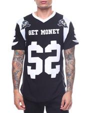 Jerseys - GET MONEY FOOTBALL TEE