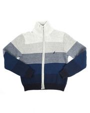 Nautica - Full Zip Sweater (8-20)