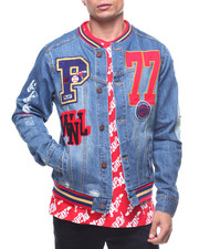 Play Cloths - CU VARSITY JEAN JACKET