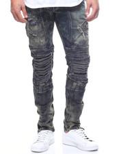 Global Movement Mens - Ruins Chopper Jean