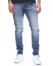 Global Movement Mens - Dark Slate Slim Jean