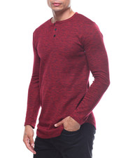 Buyers Picks - SPACED DYED L/S HENLEY