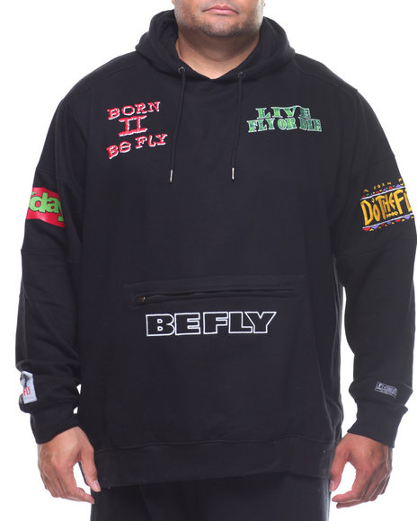 Born Fly - Menace Hoodie (B&T)